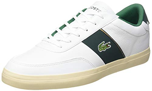 Lacoste Herren Court-Master 319 6 CMA Sneaker, Weiß (Wht/Dk Grn), 46 EU