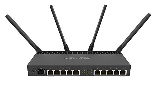 MikroTik WLAN-Router RB4011iGS+5HacQ2HnD-IN (RB4011iGS+5HacQ2HnD-IN)