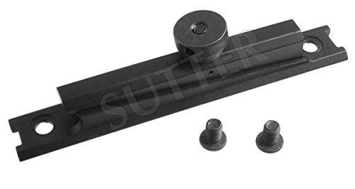 SUTTER Adapter Schiene Tragegriff Picatinny - Montageschiene Montageringe für Zielfernrohr RedDot Zielvisier