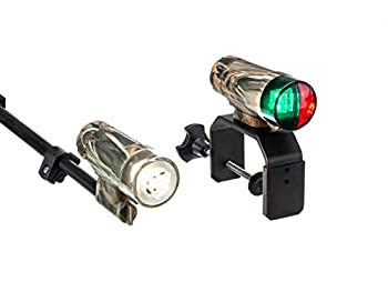 Attwood 14197-7 Portable All-Craft LED Boat Navigation Light Kit - Realtree Max-4 Camouflage