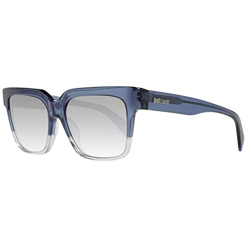 Just Cavalli JC780S 92W 53 Gafas de sol, Azul (Blu/Altro/Blu Grad), Unisex Adulto