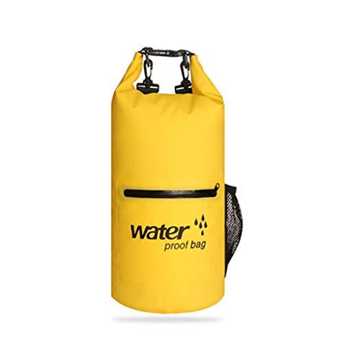 mochila seca ligera, mochila de senderismo impermeable respetuoso del medio ambiente, conveniente para todas las actividades al aire libre y acuáticas-con la bolsa acolchada de la correa del hombro