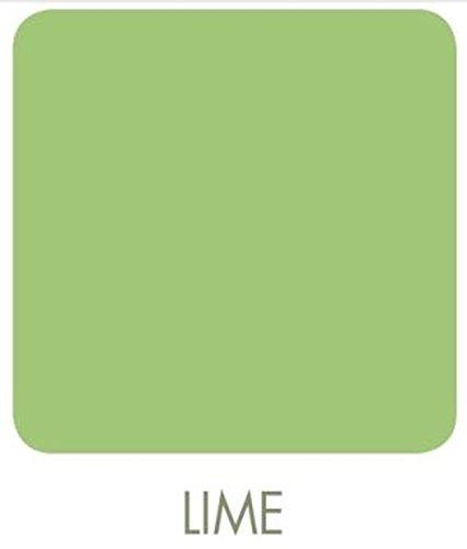 Signeo Bunte Wandfarbe, LIME, Limette, matt, elegant-matte Oberflächen, Innenfarbe, 1 Liter