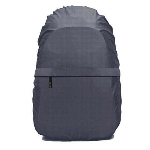 Frelaxy Waterproof Backpack Rain Cover with Zipper (Gray, S)