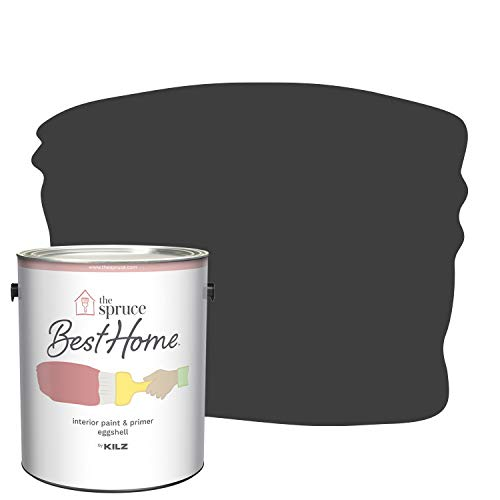 The Spruce Best Home by KILZ 15127001 Interior Eggshell Paint & Primer in One, 1 Gallon, SPR-32...