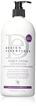 Design Essentials Honey Creme Moisture Retention Super Detangling Conditioning Shampoo 32 Ounces