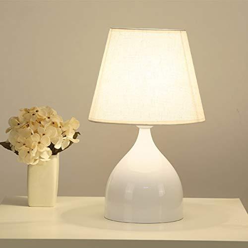 LED lámpara de mesa de noche, la Noche de noche simple Readi Elegante y refinado ambiente de estilo Inicio de la tela de Coverd arte lámpara de mesa, lámpara de mesa lateral lámparas de noche las luce