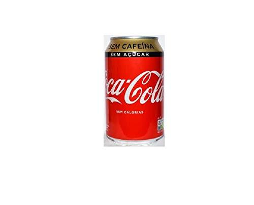 Coca-Cola Zero Azúcar Zero Cafeína Lata - 330 ml x 24 Latas