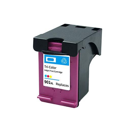 Reemplazo de cartuchos de tinta remanufacturados 901XL, para impresora HP Officejet 4500 J4580 J4640 J4660 J4680 1* color
