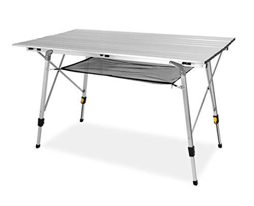 GIAOGIAO Aluminiumlegierungs-Klapptisch, Crawler-Stil-Klapptisch-Oberteil, tragbar und leicht zu lagern