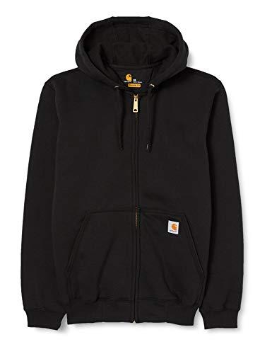 Carhartt K122 Sweatshirt à capuche avec fermeture Éclair avant , noir , L