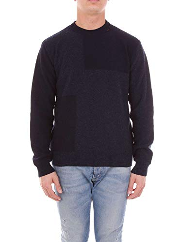 Mauro Grifoni Luxury Fashion Mens Sweater Spring Blue