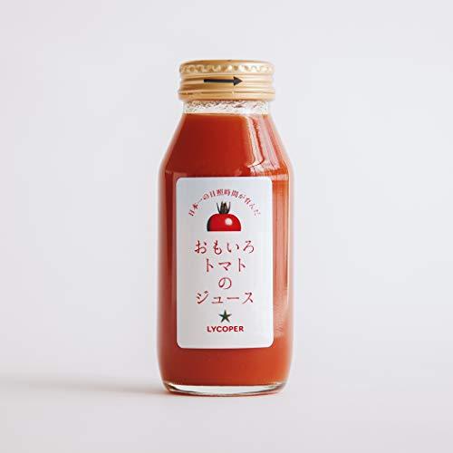 【ギフト お歳暮】おもいろトマトのトマトジュース トマト100% 水・食塩・糖類等は一切不使用 おもいろトマトジュース(180ml)×3本+そがいろトマトジュース(180ml)×3本 お歳暮 お中元 ギフト 贈り物 贈答品 誕生日プレゼント