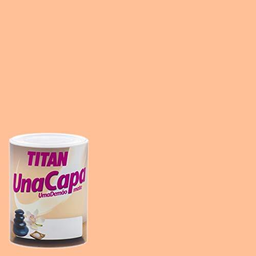 Pintura Mate Titan Una Capa - 750 mL, Salmón Suave