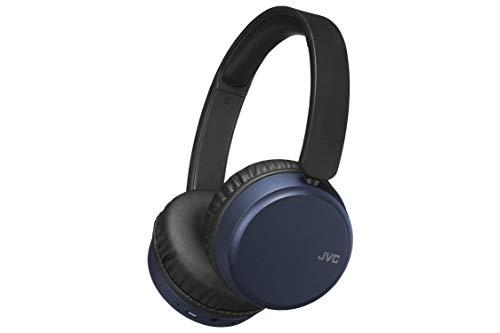JVC - Auriculares inalámbricos HA-S65BN Color Azul, Noice Cancelling