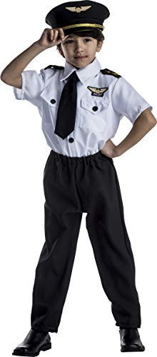 Dress Up America Ensemble de costume de pilote pour enfants de luxe L (12/14)