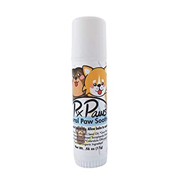 RxPaws Dog Natural Paw Soother Paw Moisturizer Mess-Free Paw Tube Balm All Natural Ingredients