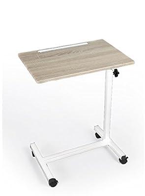 Adjustable Height Rolling Laptop Desk
