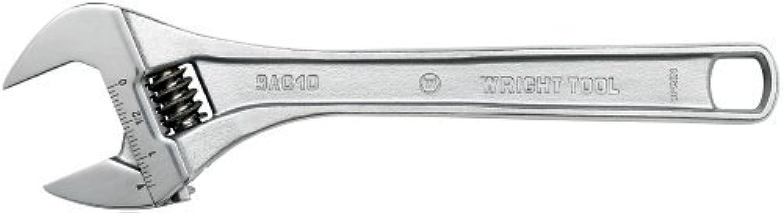 Wright Wright Wright Tool 9AC08 Verstellbarer Schraubenschlüssel, 20,3 cm, Chrom, mit einer maximalen Kapazität von 3,8 cm von Wright Tool B0184XJZ82   Modernes Design  67d68c