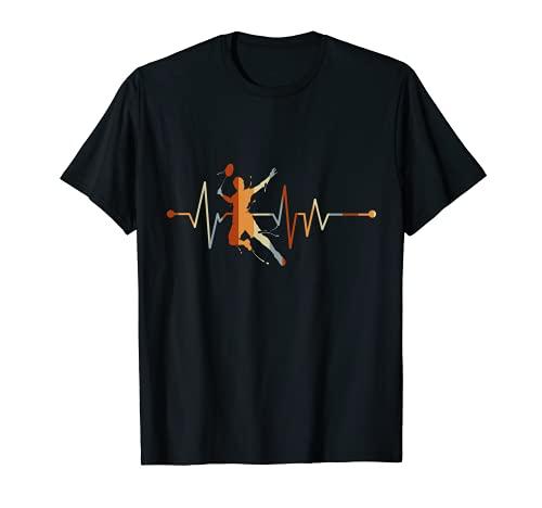 Federball Mein Herz schlägt für Badminton T-Shirt