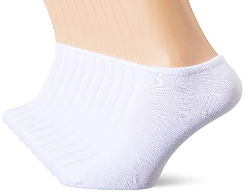 s.Oliver Socks Herren S24008 Füßlinge, 10er Pack, Weiß (White 0000), Herstellergröße: 43/46