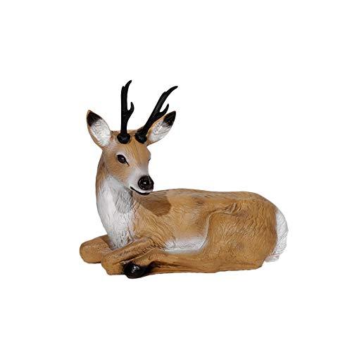 Franzbogen - Sitzender Rehbock; Ziel BZW. Zielscheibe für den Bogensport, Bogenschießen, Pfeil und Bogen, Armbrust Sport, aus hochwertigem langlebigen Material in 3D