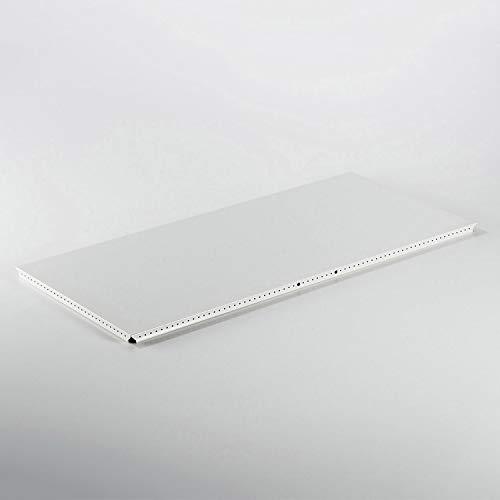 Swissmobilia Métal élément außentablar pour USM Haller 750 x 350 RAL 9010 Blanc Pur