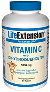 Life Extension Vitamin C with Dihydroquercetin. 60 tablets by Life Extension