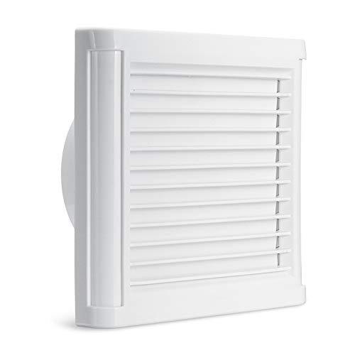 ExcLent 6 Inch 220V 60W Extractor Fan Silent Ventilation Wall Mounted Fan Windows Bathroom Toilet