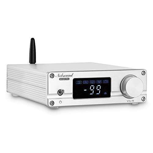 Best Review Of Nobsound NS-08P PRO Bluetooth 5.0 Stereo Audio Preamp Attenuated Control Bass Preampl...