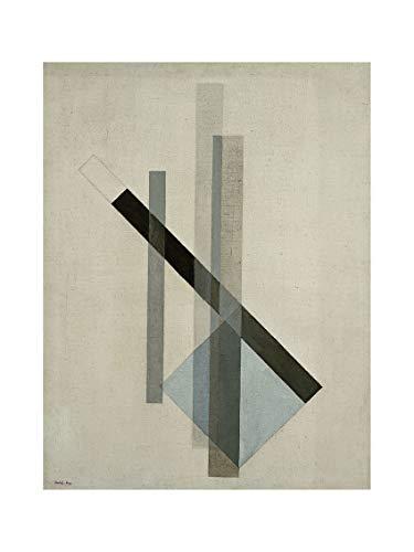 Moholy-Nagy - Konstruktion (Glas-Architektur) um 1922/23 Print 60x80cm
