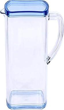 MURLIDHAR Enterprise Unbreakable Water Jug Transparent Water Jug Juice Jug with Plastic Lid Plastic Water jug for Home use Mi
