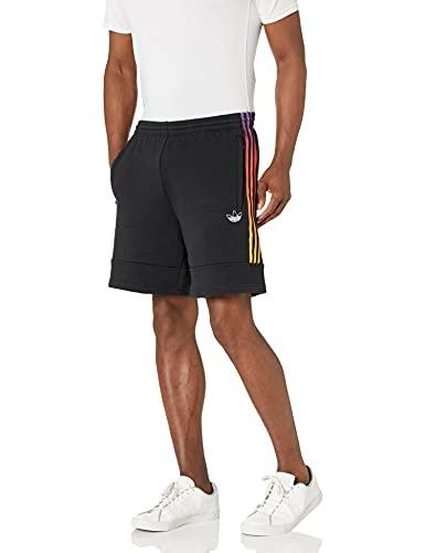 adidas Originals Men's Sport Foundation SweatShorts, Black, Large