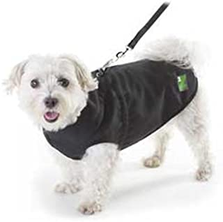 Pawz Black 1Z Coat, 12-Inch Long/ 20-Inch Girth