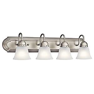 Kichler Lighting 5338NIS Four Light Bath, Brushed Nickel