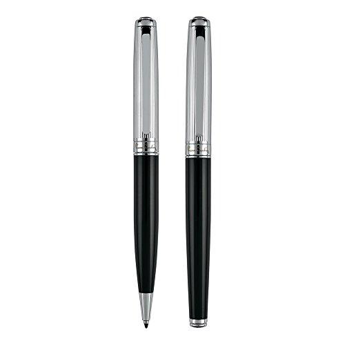 PIERRE CARDIN Schreib-Set aus Dreh-Kugelschreiber und Tinten-roller Gelstift und Metall-Kugelschreiber DIDIER Set RB KS