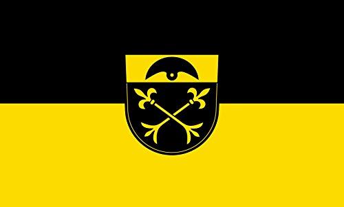 Unbekannt magFlags Tisch-Fahne/Tisch-Flagge: Warthausen 15x25cm inkl. Tisch-Ständer