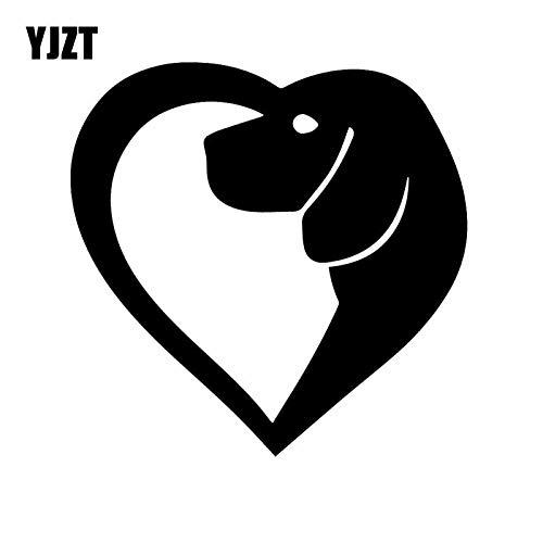 JYHW Pegatinas de Vinilo con Forma de corazón de 14 3x14 2...
