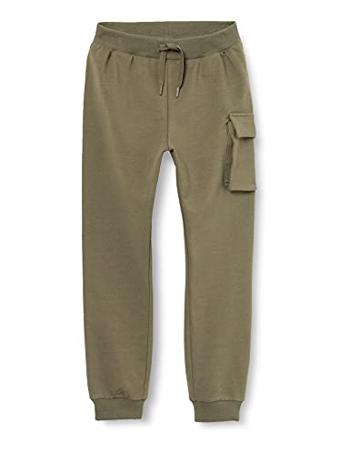 NAME IT Jungen NMMBIRK Sweat Pant UNB Hose, Ivy Green, 104