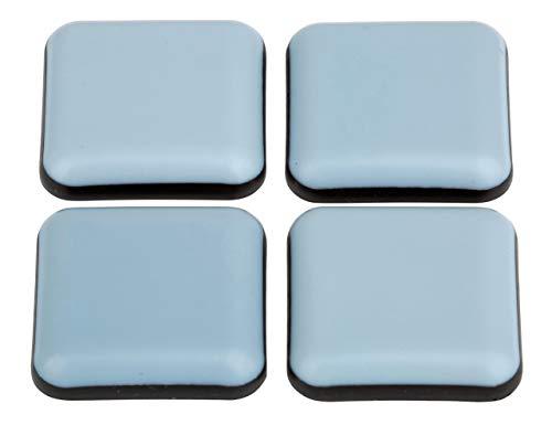 Teflon-Möbelgleiter │ 16 Stück │ viereckig │ 25 x 25 mm │ selbstklebend │ Bodenschützer │ PTFE-Gleiter │ by FD-Workstuff
