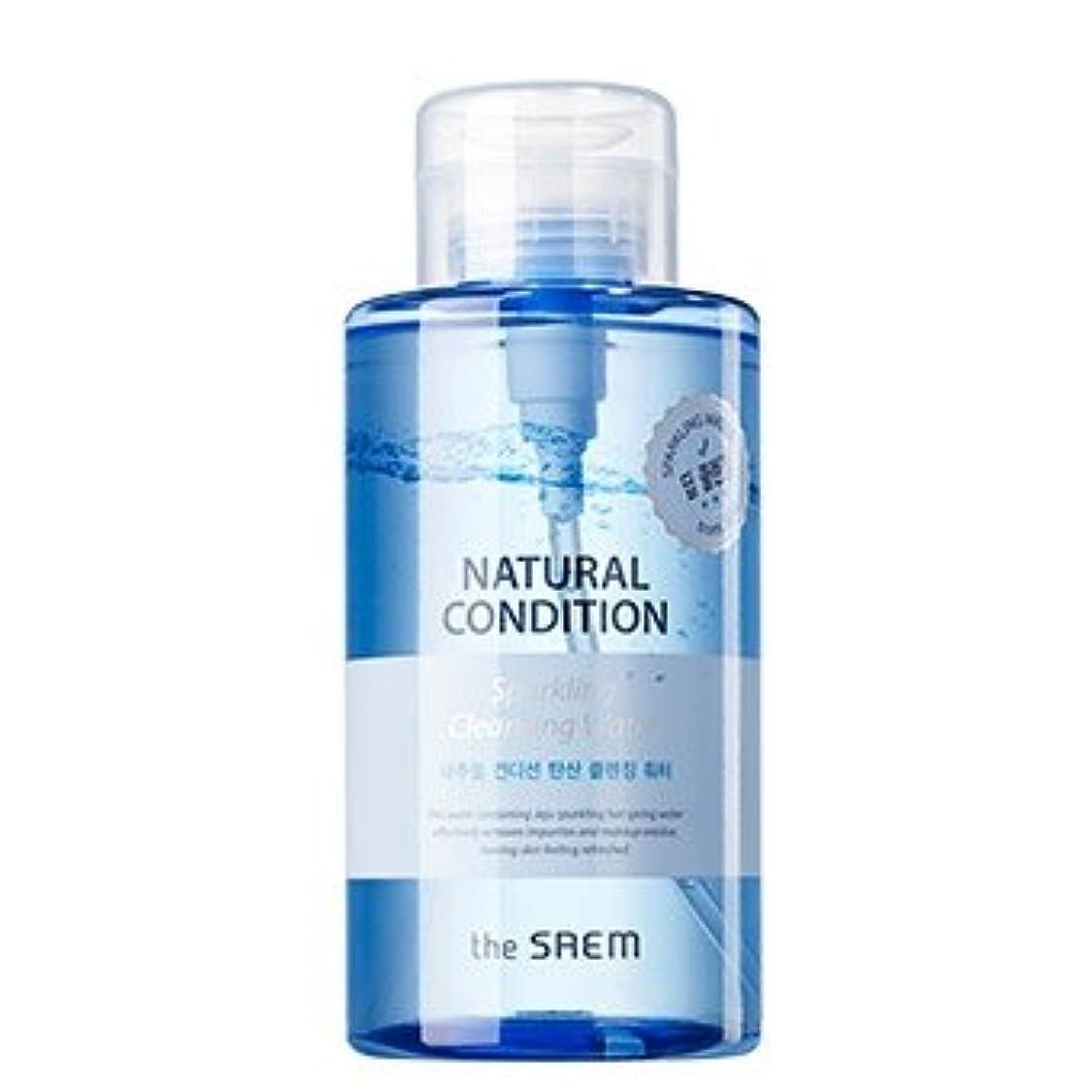 不名誉な極地金曜日the SAEM Natural Condition Sparkling Cleansing Water 500ml/ザセム ナチュラル コンディション スパークリング クレンジングウォーター 500ml [並行輸入品]