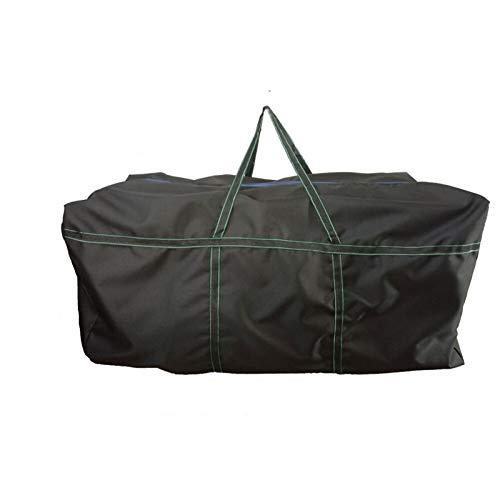 Bolsa de equipaje plegable, gran capacidad KAYAK inflable PVC bote de la correa de la correa de la bolsa de pesca duradera Bolsa de almacenamiento de la pesca para el agua de la bolsa de transporte de