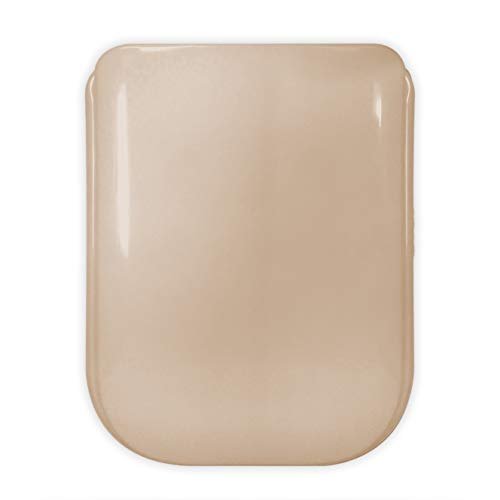 Copriwater Sedile Wc Compatibile | Tonca - Conca - Pierre Cardin Ideal Standard | Gala 2000 Gala | Colori Diversi | Facile Pulizia E Installazione | Molto Resistente | 44 x 34 x 4 cm (Beige)