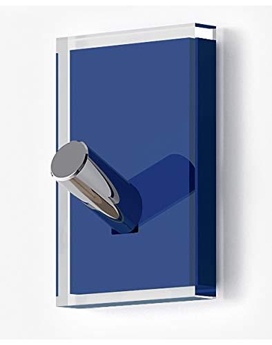 Gedy Rainbow Percha, Resinas termoplásticas, Transparente Azul, Simple