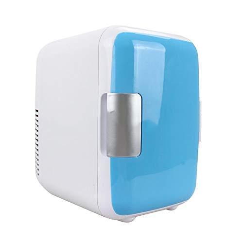 Anjin Mini-koelkast, 12 V, draagbare thermo-elektrische koelbox/verwarmingsbox voor car camping (4L)