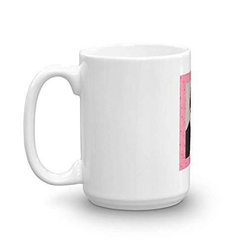 Taza de cerámica fina Floral Keanu de 11 oz con esmalte impecable Tazas de 11 oz es el regalo perfecto para todos