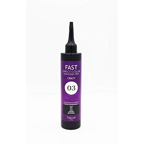 Faipa Fast Couleur directe sans ammoniaque semi-permanente Prune 150 ml