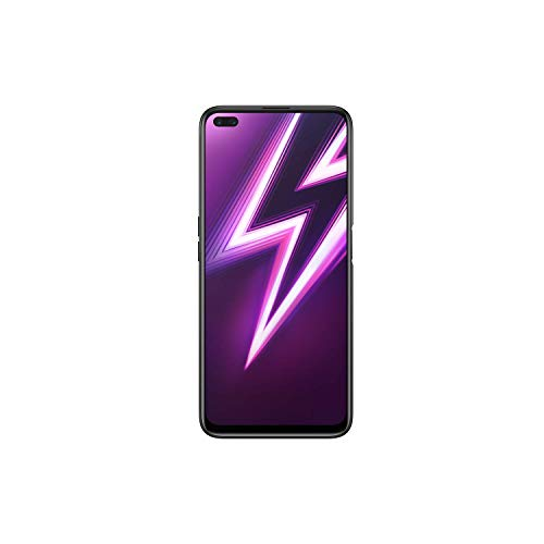 Realme 6 Pro (128GB, 6GB) 6.6' 90Hz Display, 30W Fast Charge, Snapdragon 720G, GSM Unlocked Global 4G LTE (T-Mobile, AT&T, Metro) International Model RMX2063 (128GB SD Bundle, Lightning Red)