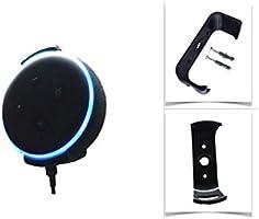 Suporte Apoio Stand De Parede Amazon Alexa Echo Dot 3 (PRETO)