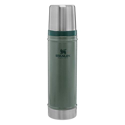 Stanley Classic VacuumInsulatedWide MouthBottle- BPA-Free 18/8 Stainless SteelThermosfor...